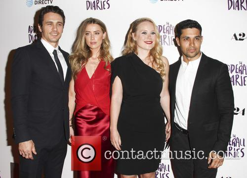 Amber Heard, James Franco, Pamela Romanowsky and Wilmer Valderrama 1
