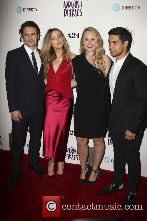 James Franco, Amber Heard, Pamela Romanowsky and Wilmer Valderrama 8
