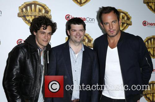 Phil Lord, Chris Miller and Will Arnett 2