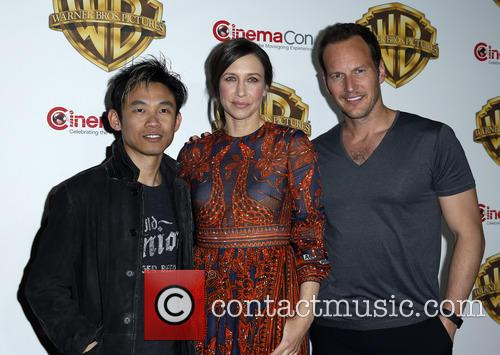James Wan, Vera Farmiga and Patrick Wilson