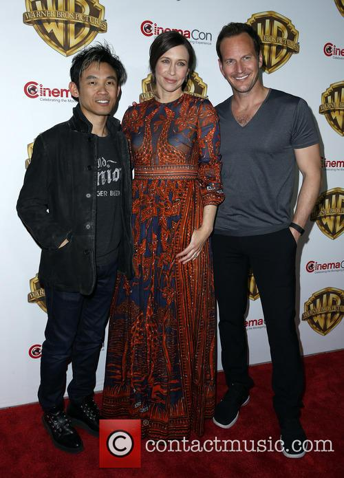 James Wan, Vera Farmiga and Patrick Wilson