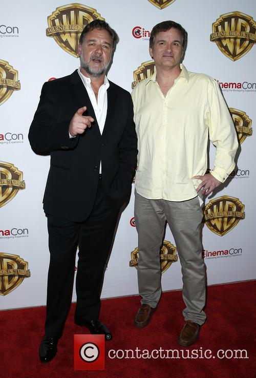 Russell Crowe and Shane Black 6