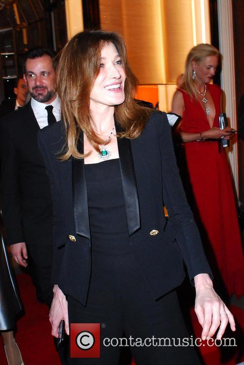 Carla Bruni and Bond
