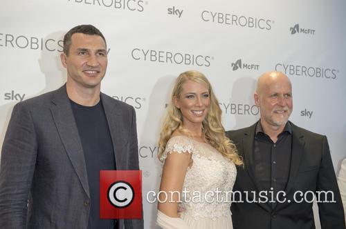 Wladimir Klitschko and Rainer Schaller