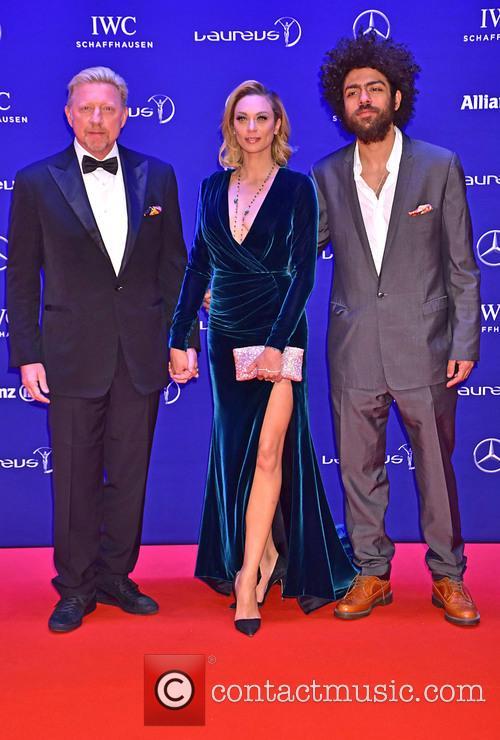 Boris Becker, Lilly Becker and Noah Becker 2