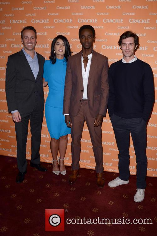 Eric Berger, Otmara Marrero, Edi Gathegi and Adam Brody 1