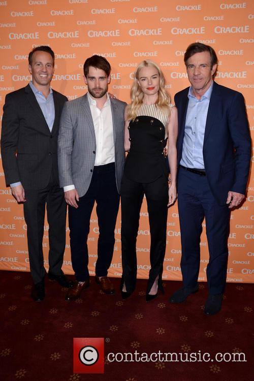 Eric Berger, Christian Cooke, Kate Bosworth and Bryan Cranston 2
