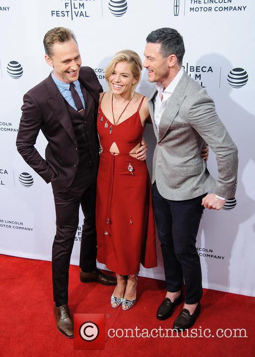Luke Evans, Sienna Miller and Tom Hiddleston 8