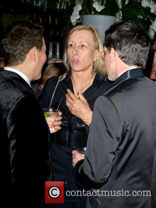 Michael Feinstein, Martina Navratilova and Guest 4