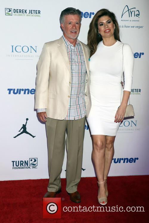 Alan Thicke and Tanya Callau Thicke