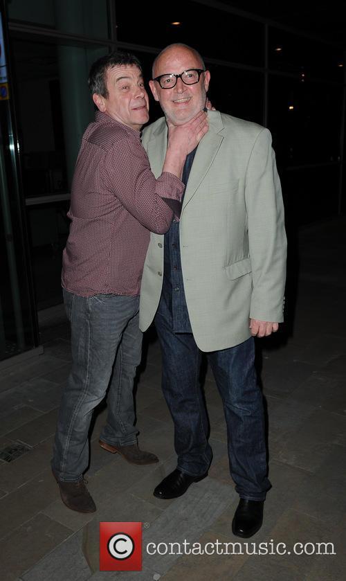 Richard Hawley and Connor Mcintyre