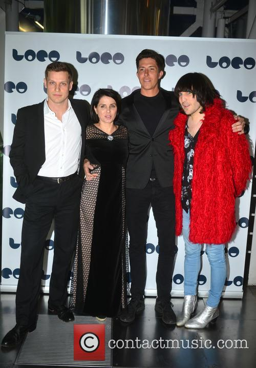 Max Bennett, Sadie Frost, Ben Charles Edwards and Noel Fielding 1
