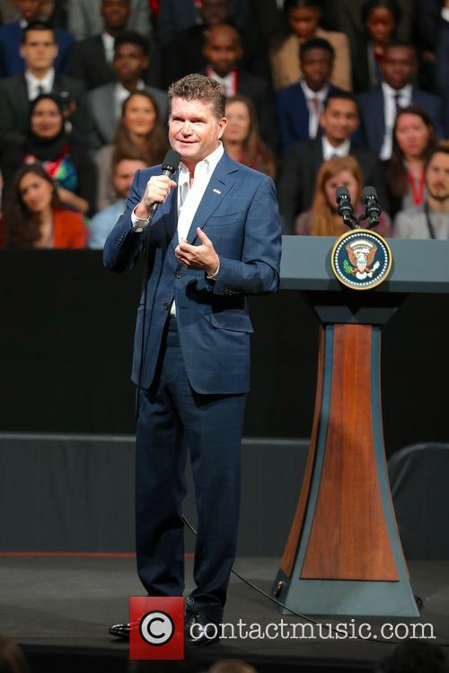 President Barack Obama and Matthew Barzun 1