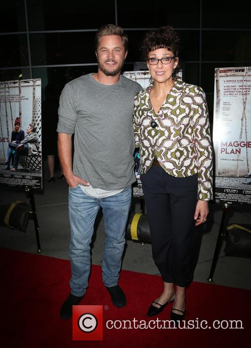 Travis Fimmel and Rebecca Miller