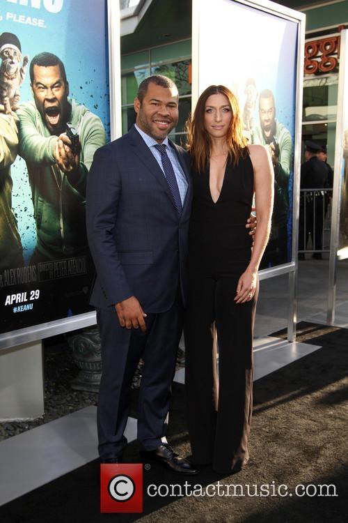 Jordan Peele and Chelsea Peretti 4