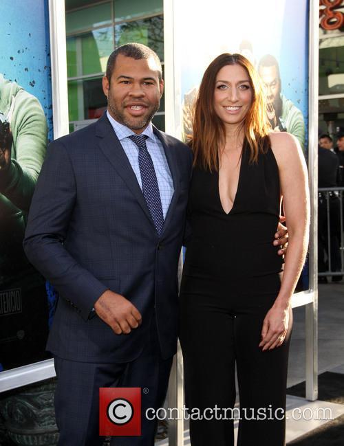 Jordan Peele and Chelsea Peretti 5