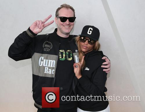 Gumball, Rapper Eve and Maximillion Cooper 7