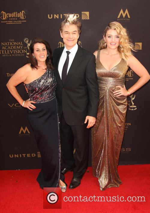 Liza Oz, Dr. Mehmet Oz and Daphne Oz 2