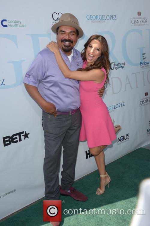 George Lopez and Eva Longoria 4