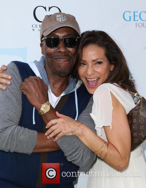 Arsenio Hall and Constance Marie 1