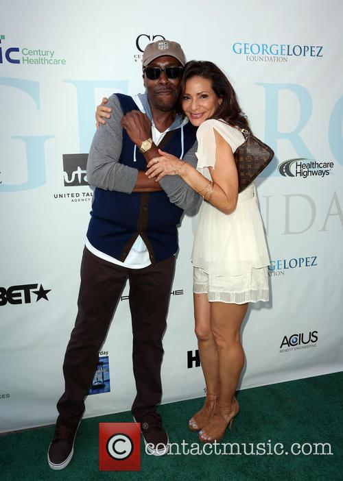 Arsenio Hall and Constance Marie 10