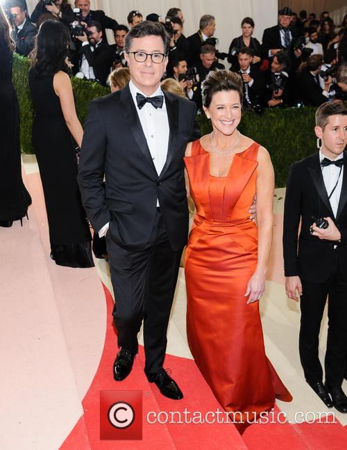 Stephen Colbert and Evelyn Mcgee-colbert 3