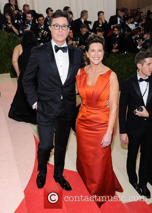 Stephen Colbert and Evelyn Mcgee-colbert 4