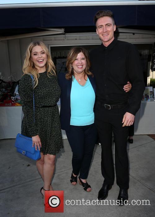 Sasha Pieterse, Linda Small and Hudson Sheaffer