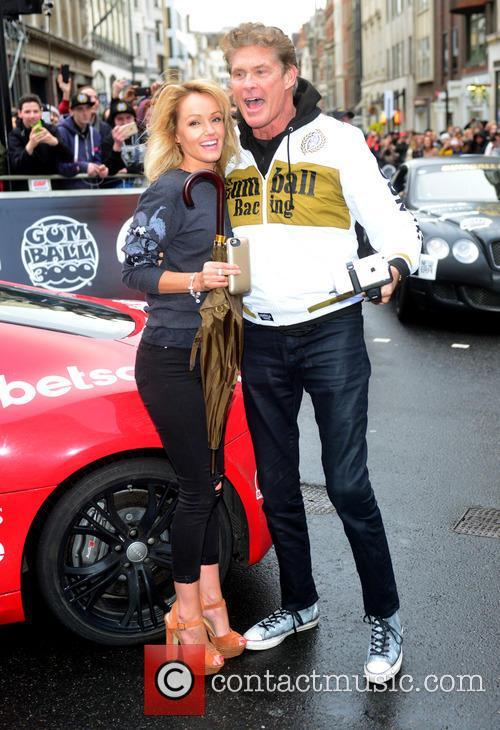 Hayley Roberts and David Hasselhoff 6
