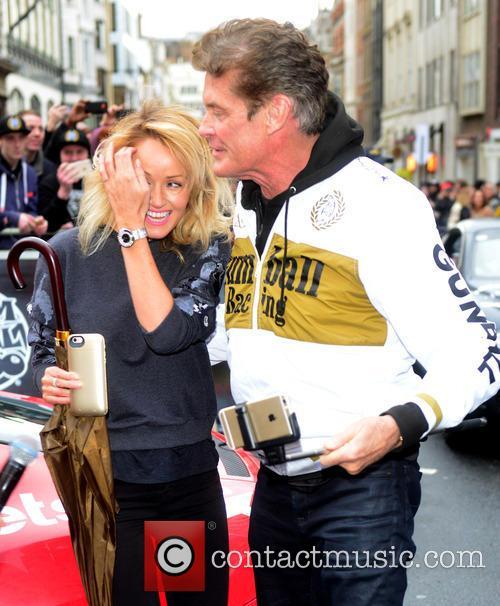 Hayley Roberts and David Hasselhoff 7