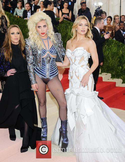 Allegra Versace, Lady Gaga and Kate Hudson