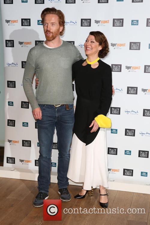 Damian Lewis and Helen Mccrory 2