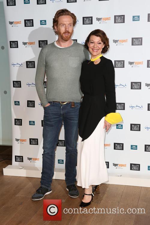 Damian Lewis and Helen Mccrory 3