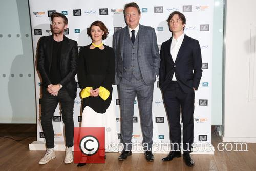Paul Anderson, Helen Mccrory, Steven Knight and Cillian Murphy