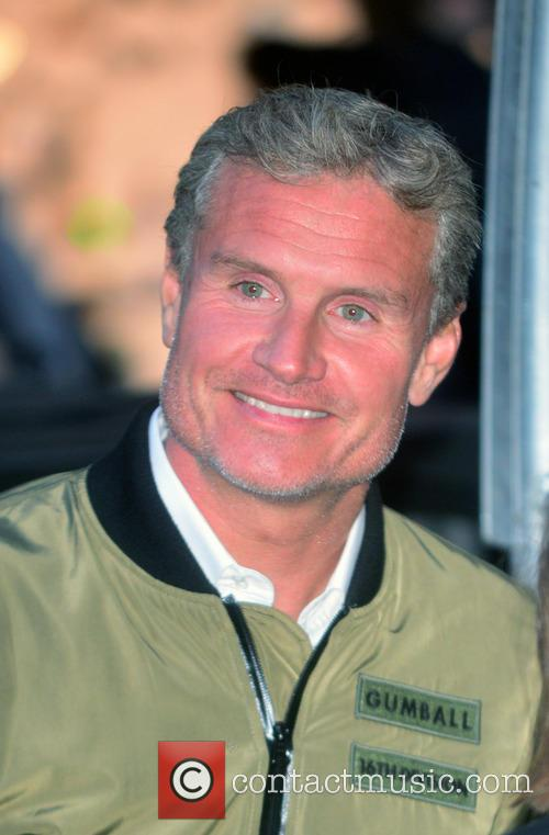 Gumball and David Coulthard 1