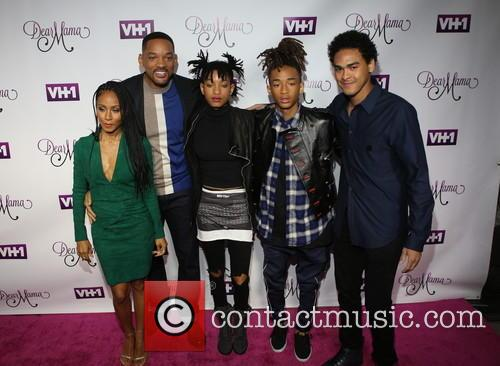 Jada Pinkett-smith, Will Smith, Willow Smith, Jaden and Trey 2
