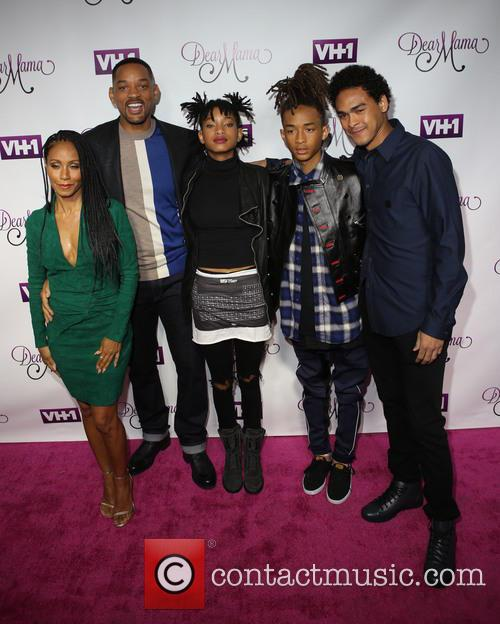 Jada Pinkett-smith, Will Smith, Willow Smith, Jaden and Trey