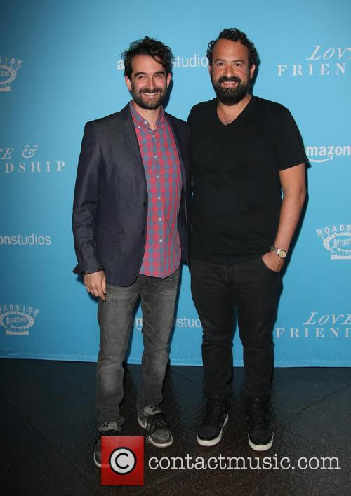 Jay Duplass and Steve Zissis