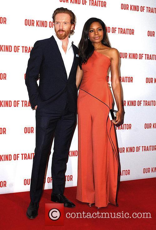 Damian Lewis and Naomi Harris 2
