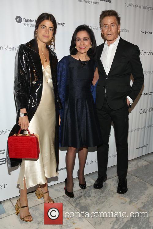 Leandra Medine, Dr. Joyce F. Brown and Calvin Klein