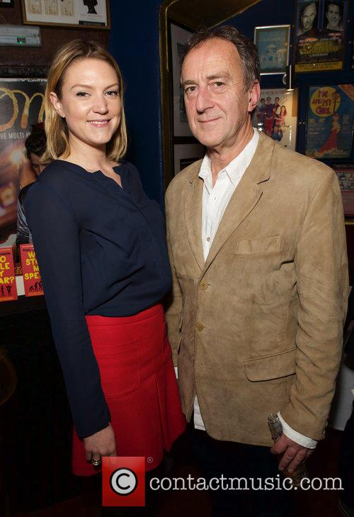 Charlotte Griffiths and Angus Deayton