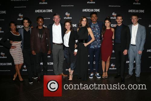 Regina King, Felicity Huffman, Lili Taylor, Angelique Rivera, Michael J. Mcdonald, Elvis Nolasco, Joey Pollari, Trevor Jackson, Richard Cabral and Connor Jessup 1