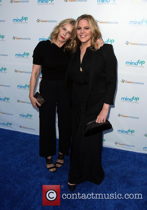 Chelsea Handler and Mary Mccormack
