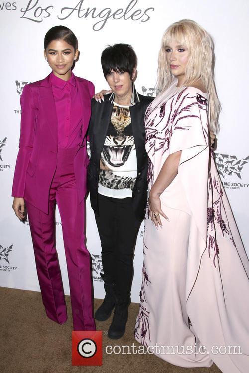 Zendaya Coleman, Diane Warren and Kesha 2