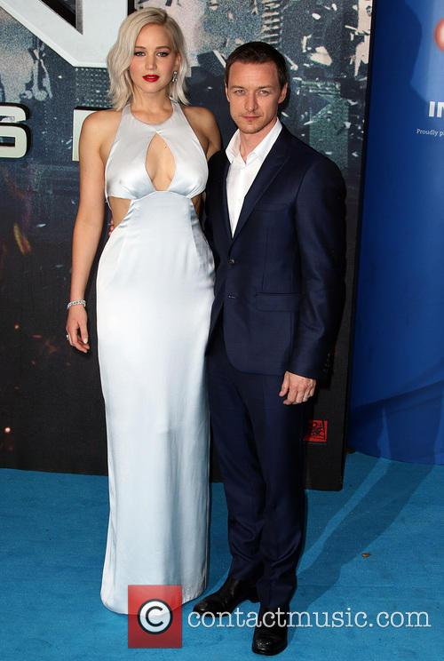 Jennifer Lawrence and James Mcavoy 1