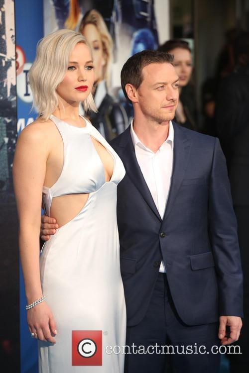 Jennifer Lawrence and James Mcavoy 5