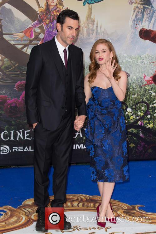 Sacha Baron Cohen and Isla Fisher 7