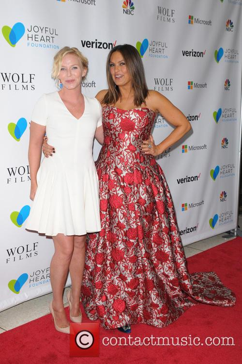 Kelli Giddish and Mariska Hargitay 4
