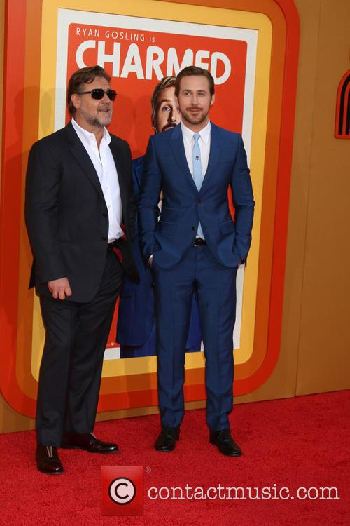 Russell Crowe and Ryan Gosling 7