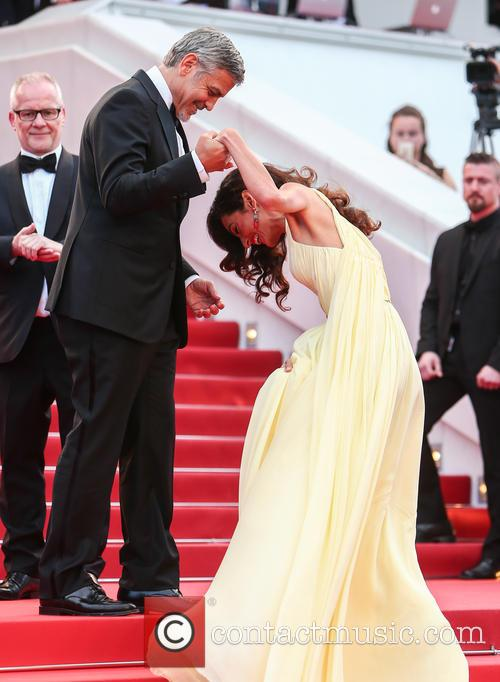 George Clooney and Amal Clooney 1